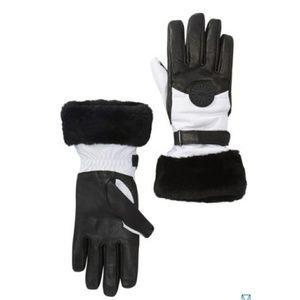 UGG Genuine Shearling Cuff Performance Smart Glove